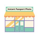 Instant Passport Photo Store Icon